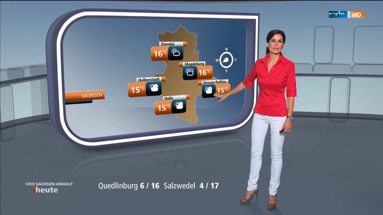"""Stephanie Meißner in """"Sachsen-Anhalt heute"""" am 29.09.2015 - Bilder ..."""