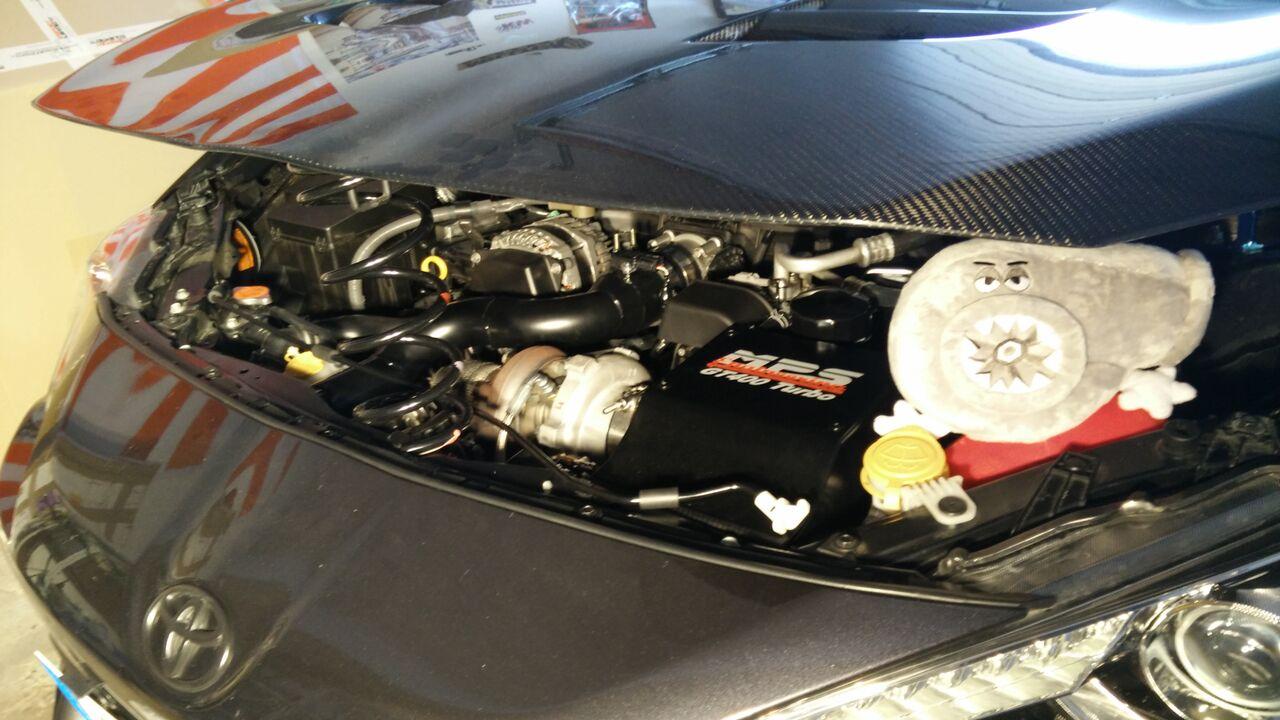 Wretch´s GT 86, Asphalt Grau mit Aero (02.10.2015 Bericht vom Turbo ...