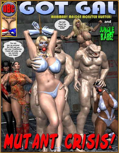 DBC – Got Gal Mutant Crisis - Fighter, 3D Porn Comic Download Comics