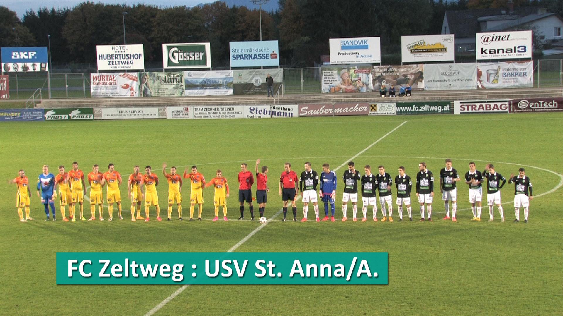 FC Zeltweg - USV St. Anna/A.
