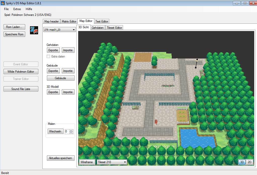 Pokemon ds map editor download