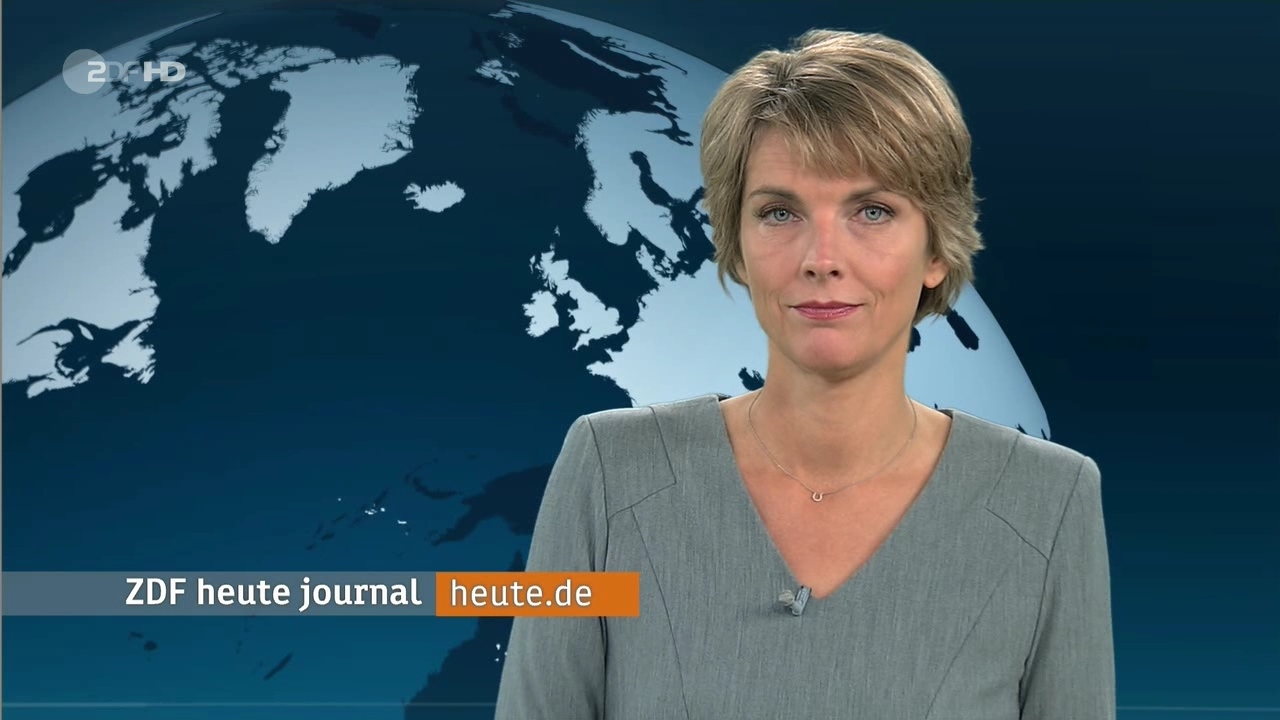 Marietta Slomka Heute Journal Am 13 10 2015 Als Extra Posting