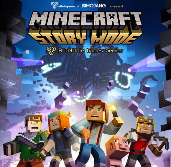 Minecraft: Story Mode 2015 Xbox Ps3 Ps4 Pc jtag rgh dvd iso Xbox360 Wii Nintendo Mac Linux