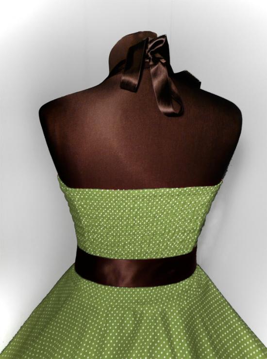50er jahre punkte kleid rockabilly petticoat dots ebay. Black Bedroom Furniture Sets. Home Design Ideas