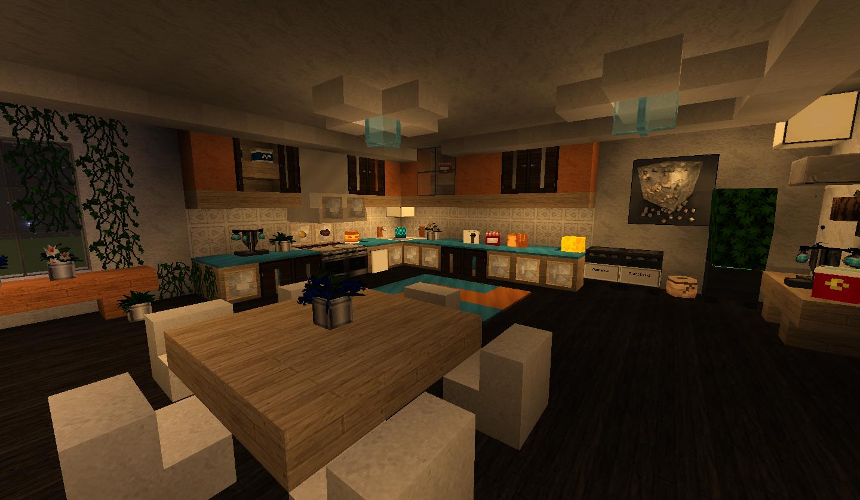 Minecraft kuche einrichtung