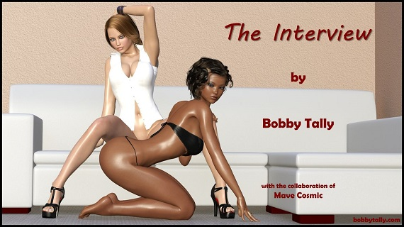 BobbyTally – The Interview - Office, Lesbian Download Comics