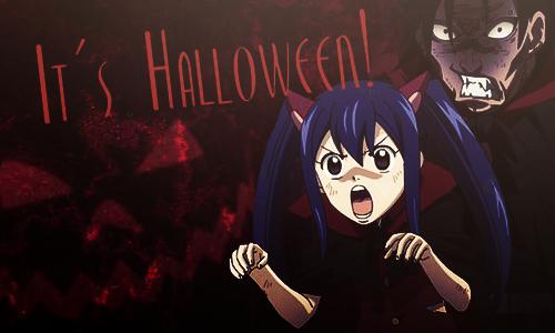 Fairy Tail -New Divide Halloween Grüße Nccea48d