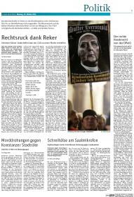 Rechtsruck dank Reker