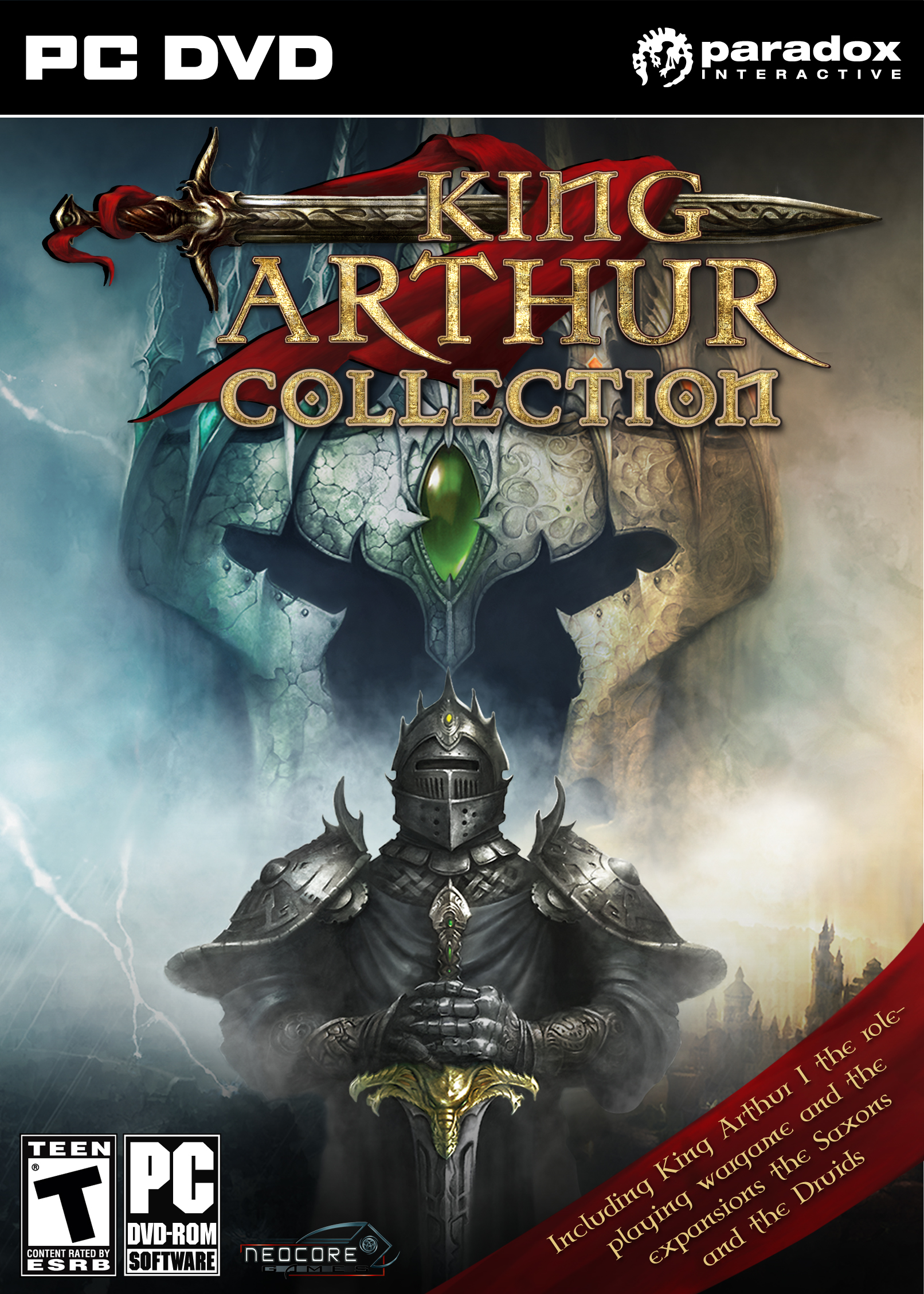 King Arthur Collection Deutsche  Texte, Menüs Cover