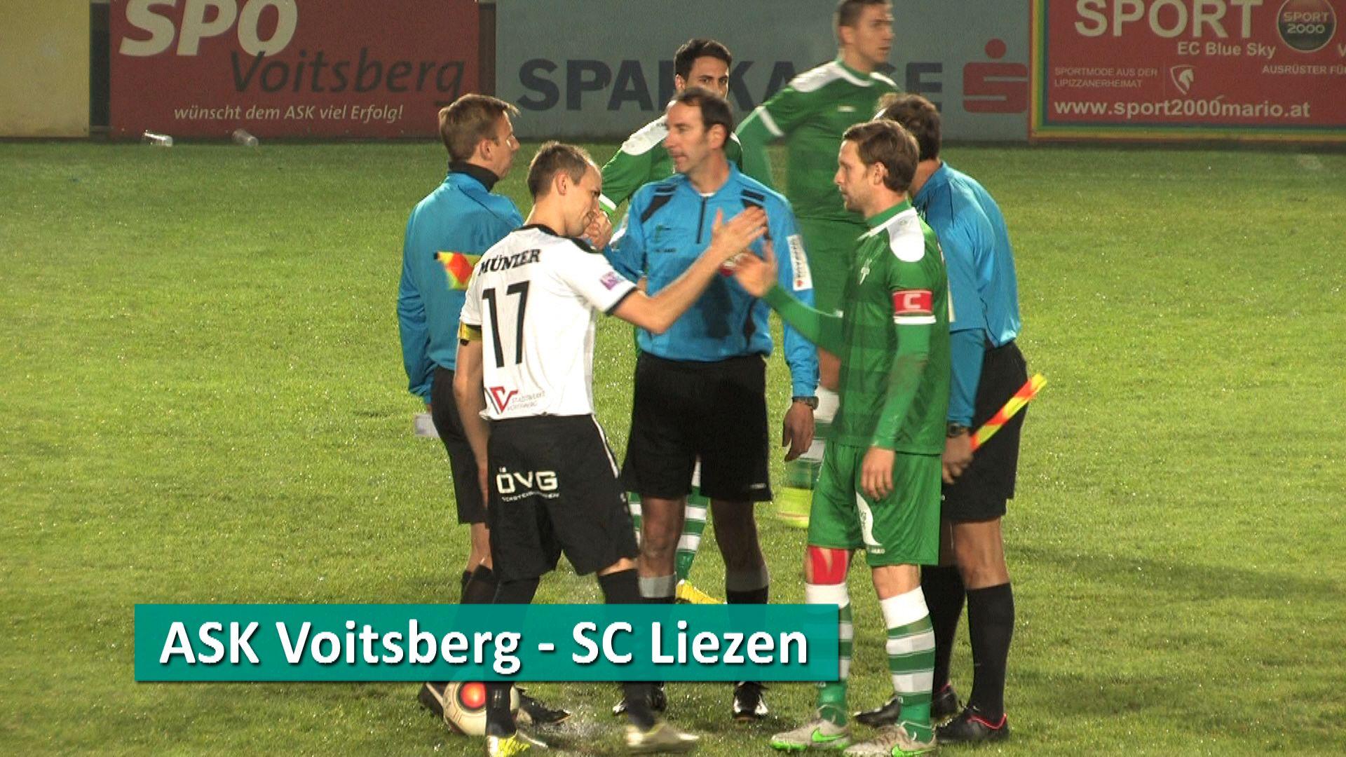 ASK Voitsberg - SC Liezen