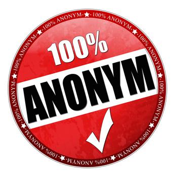 anonyme überweisung