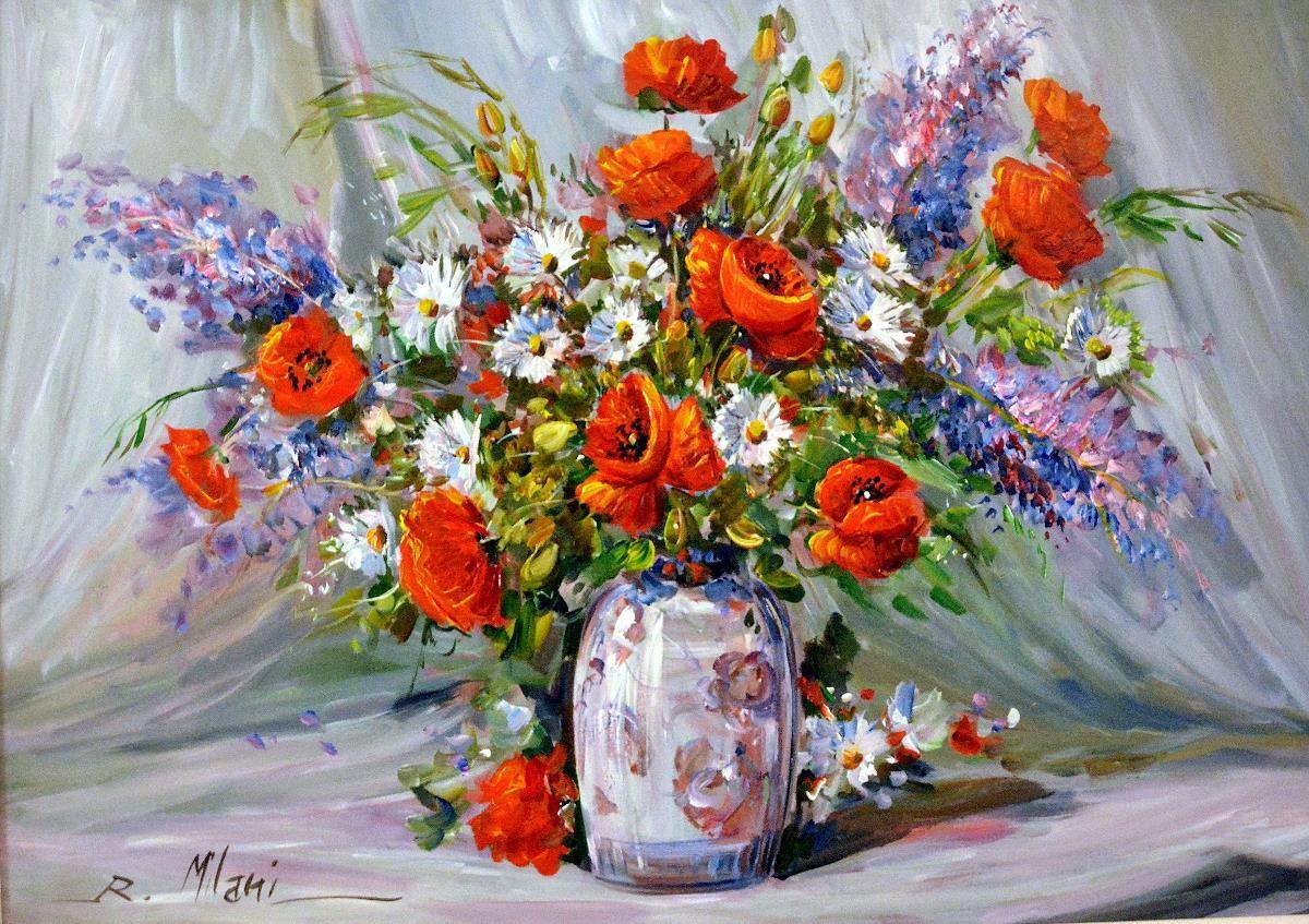 Buon compleanno teresa bice page 3 for Fiori dipinti a olio