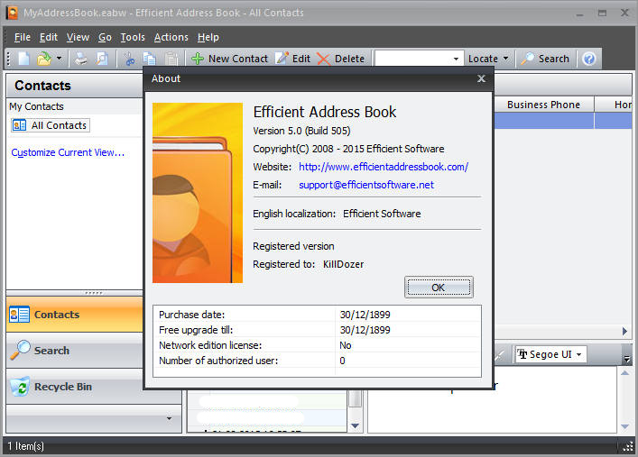 download Efficient.Address.Book.v5.10.512.Multilanguage-LAXiTY
