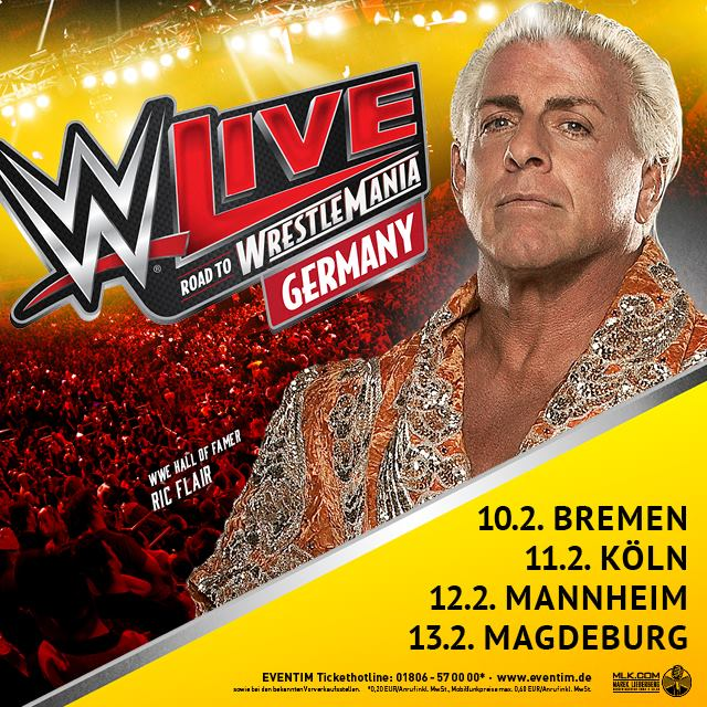 wwe live road to wrestlemania tour germany celebs celeb bilder deutsche und internationale. Black Bedroom Furniture Sets. Home Design Ideas