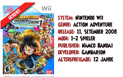 [Bewertung] One Piece: Unlimited Cruise 1  - Der Schatz unter den Wellen U8nqepkz