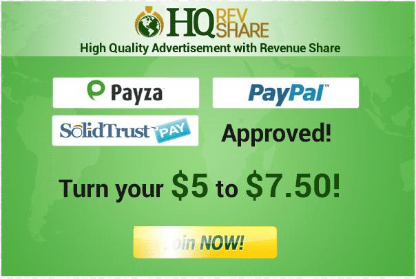 HQRevshare Logo