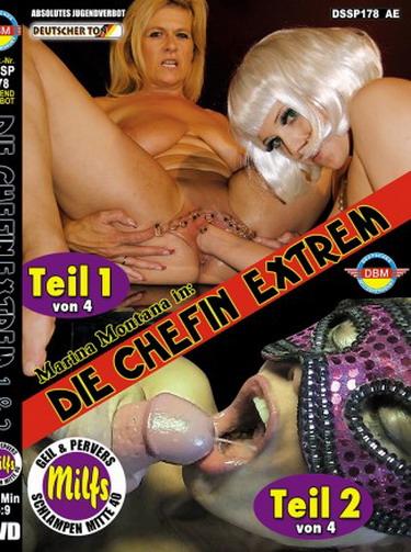 Die Chefin Extrem Teil 1 und 2 Cover