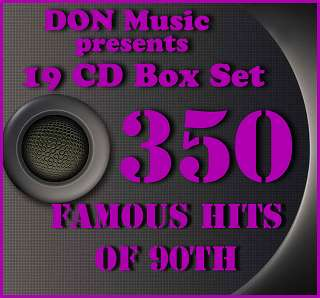 350 Famous Hits of 90th (2013)