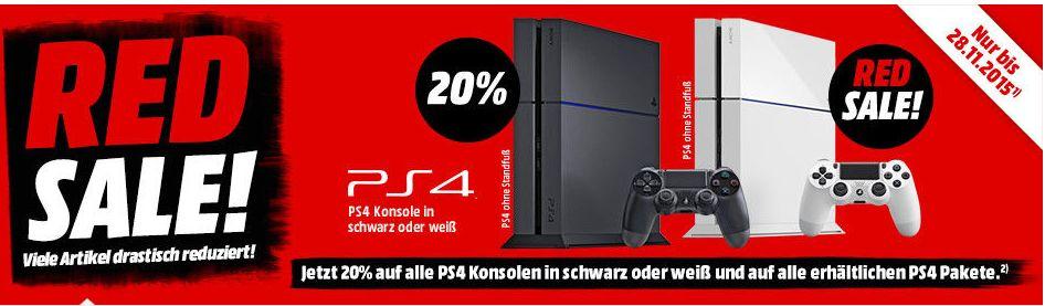 20 Rabatt Auf Alle Playstation 4 Angebote At Mediamarktde Täglich