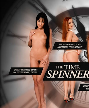 The Time Spinner (2015) Cover