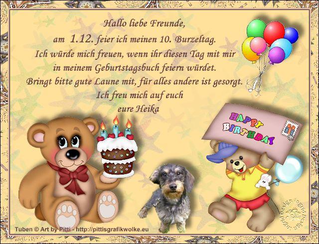 Gästebuch Banner - verlinkt mit http://heika-vom-reesenufer.de
