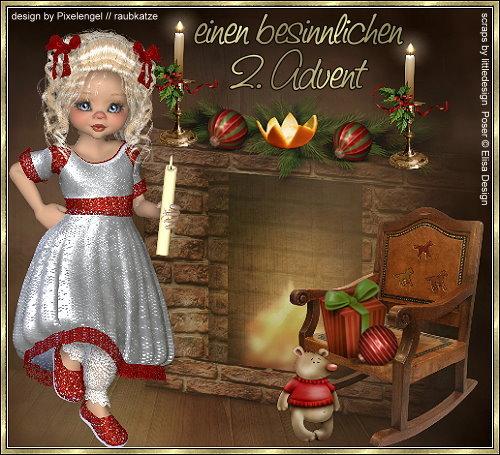 Vorweihnachtliche Grüße von Ingelein´s Plauderschloß Ddziqczd