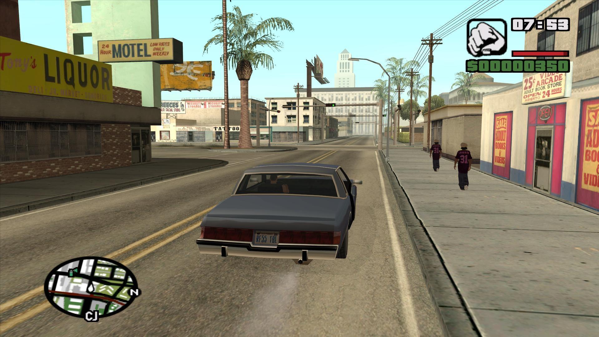 Изображение для GTA (Grand Theft Auto): San Andreas (2005) PC | Лицензия (кликните для просмотра полного изображения)