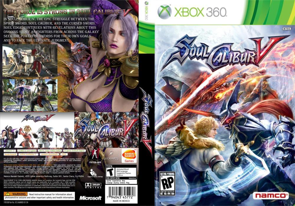 Soul Calibur V MULTI5 NUDE Xbox Ps3 Ps4 Pc jtag rgh dvd iso Xbox360 Wii Nintendo Mac Linux
