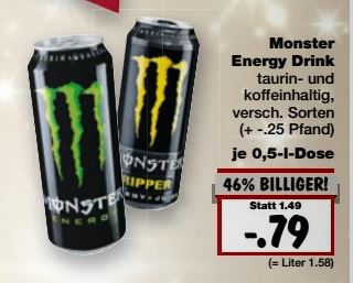 kaufland monster energy drink verschiedene sorten 0. Black Bedroom Furniture Sets. Home Design Ideas