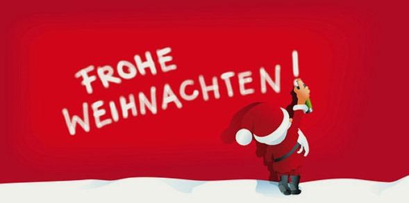 Frohe weihnachten fur alle