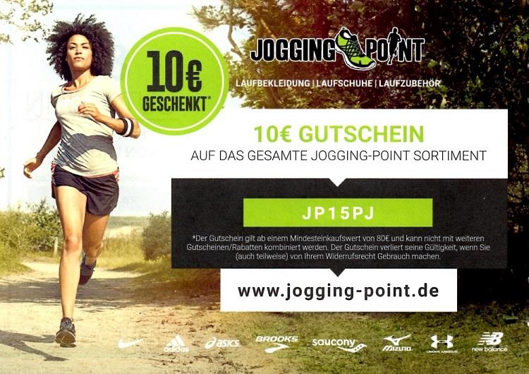 Jogging 10 gutschein 80 mbw for Gutscheincode bodendirect