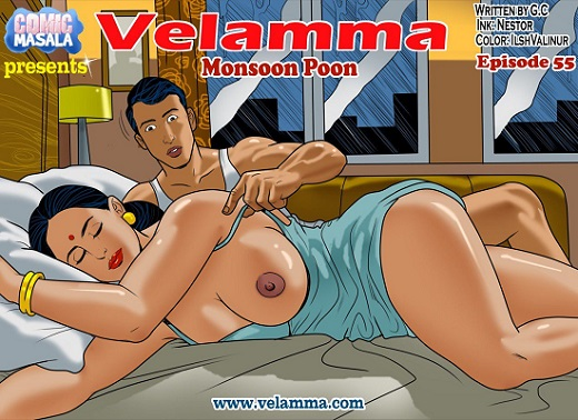 Velamma Episode 55 - Monsoon Poon