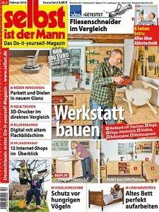 Cover: selbst ist der Mann Februar 2016 - Deutsch