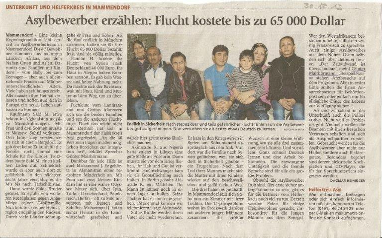 Brucker Tagblatt 30.12.2013