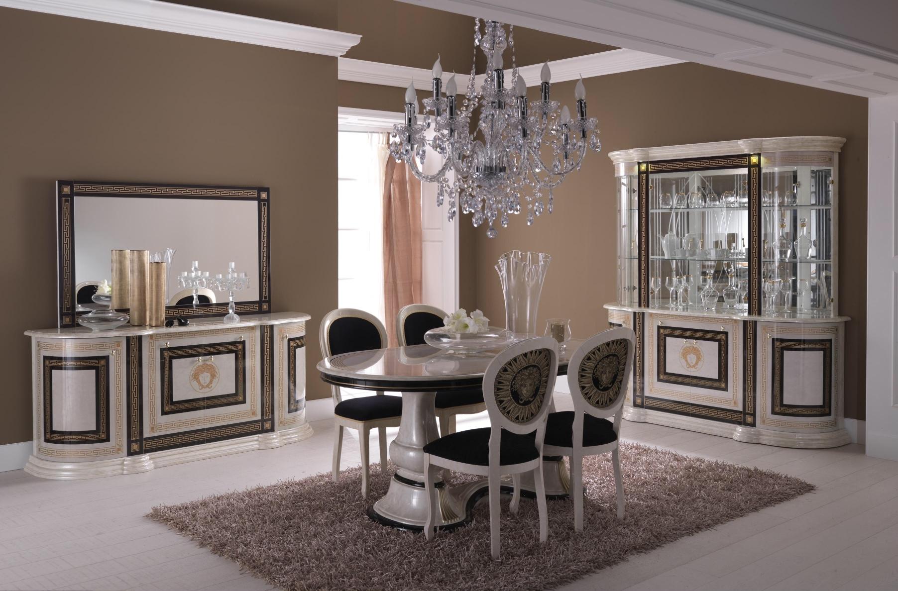 #6E5B4E Italienische Esszimmer Temiz Möbel Italienische Möbel  3907 salle à manger rustique conforama 1804x1188 px @ aertt.com