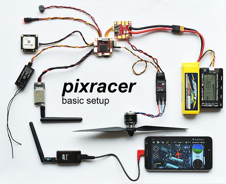 FPV-Treff de • Thema anzeigen - PixRacer, die neue PIXHAWK