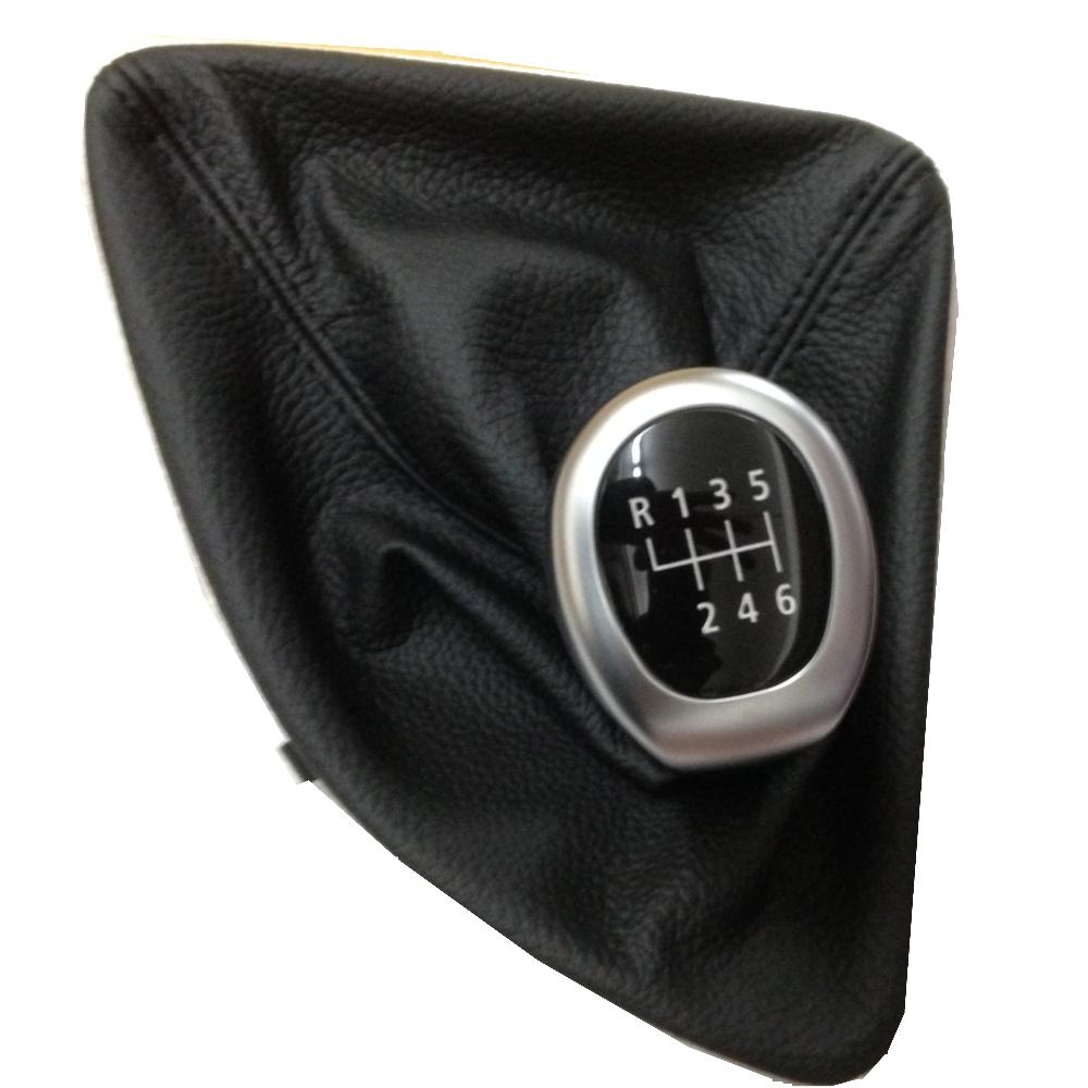 bmw schaltknauf sport schaltknopf mit chromring lederbalg 6gang 1er e87 e81 e82 ebay. Black Bedroom Furniture Sets. Home Design Ideas