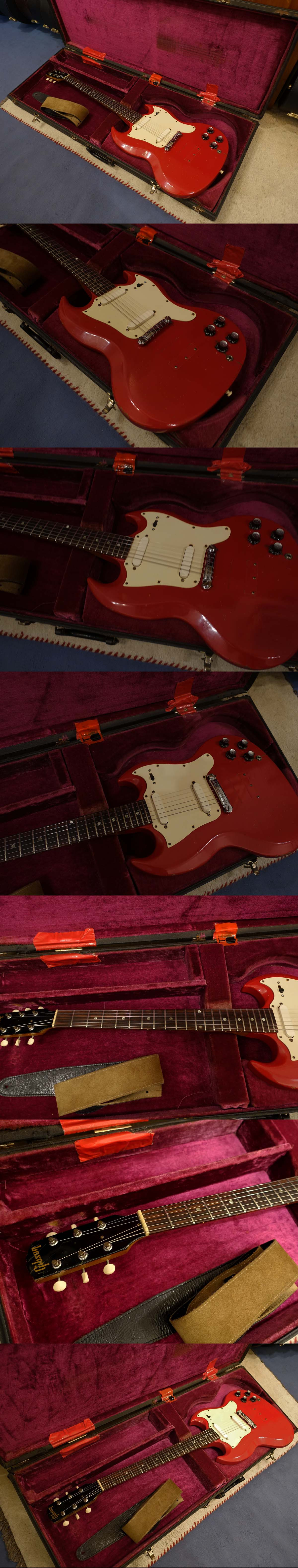 1967 Gibson SG Melody Maker (cardinal red)