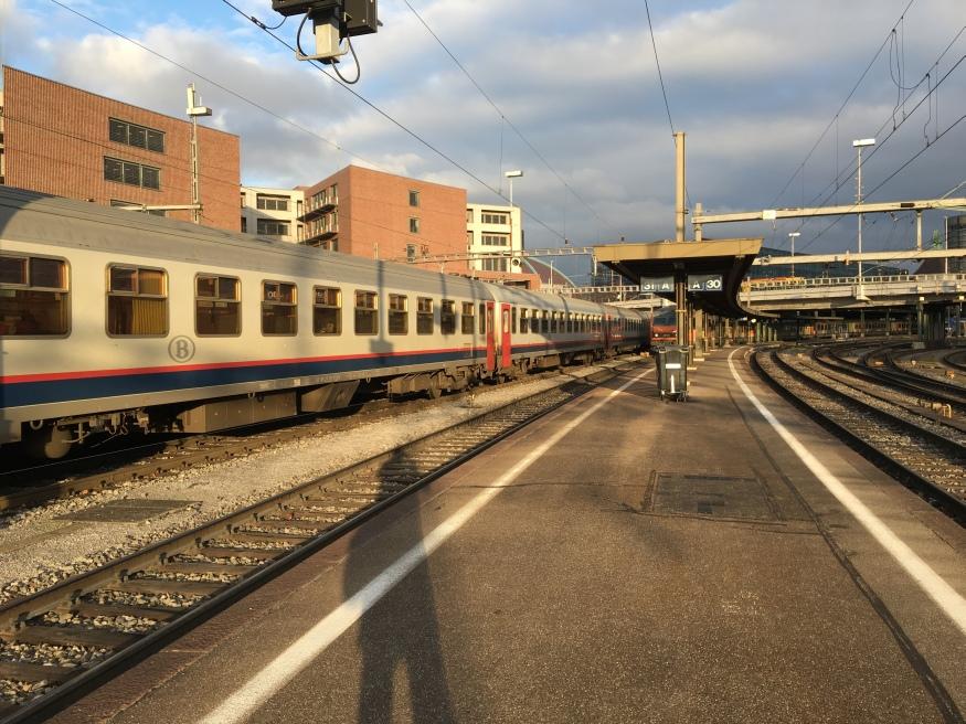 paris zurich train