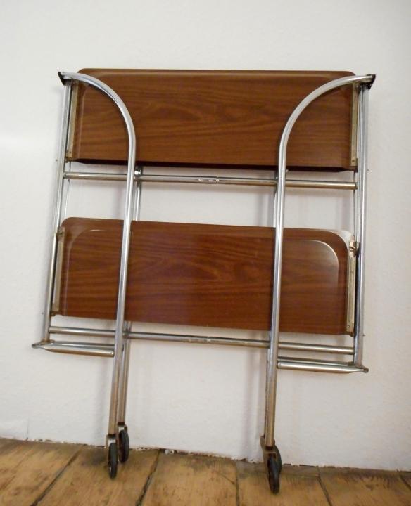 Dinett servierwagen beistelltisch 60er 70er jahre retro ebay for Beistelltisch 60er jahre
