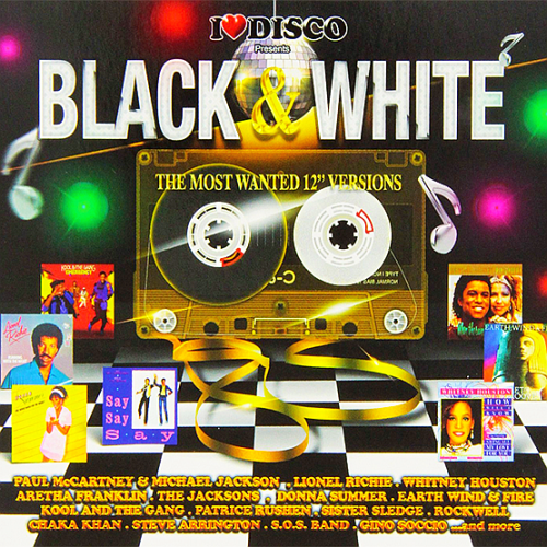 I love Disco (Black and White 80s - The Most Wanted 12 Versions) 3CD (2016)