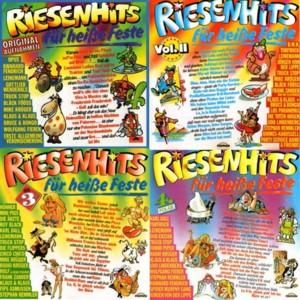 download Riesenhits für heiße Feste - (4CD-1986-89)