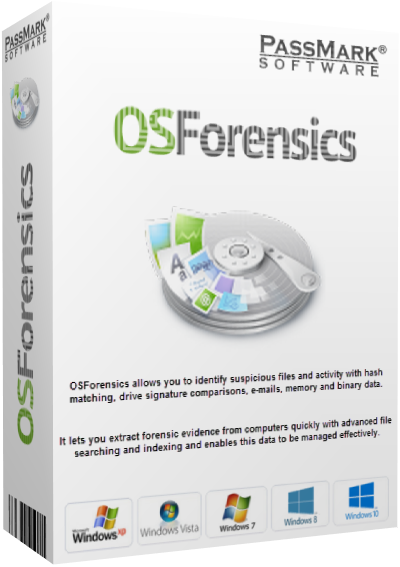 PassMark OSForensics Professional v3.3 Build 1001 + Portable