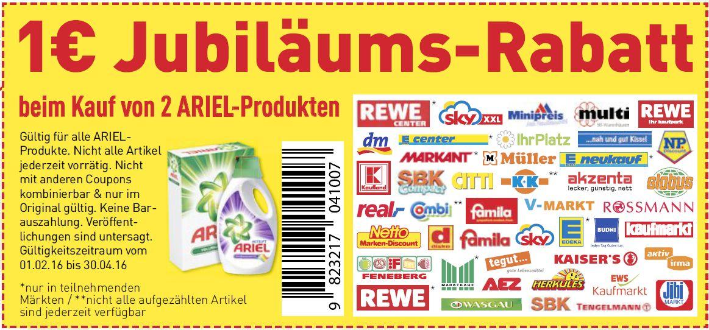 Ausdruckbare coupons