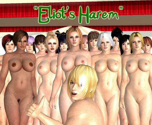 Eliot's Harem - Eliot vs. Dead or Alive girls