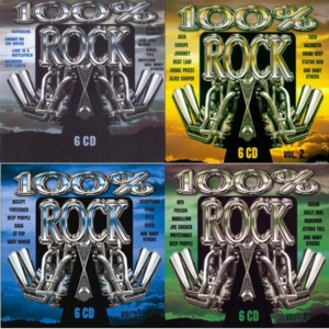 100% Rock - Collection (24CDs) (2002 - 2005)