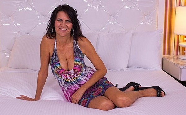 Morgan - 49 year old busty MILF loves anal E293 Cover