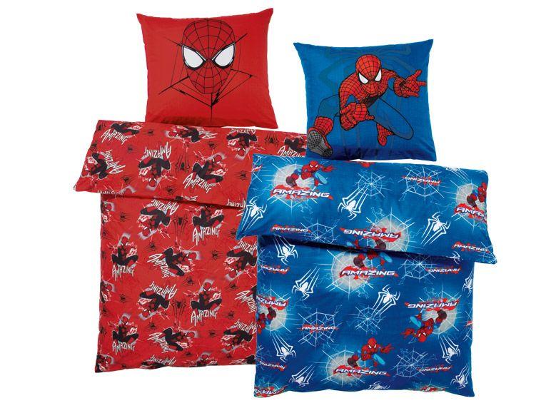 marvel spider man 2 kinder bettw sche garnitur 135 x 200 cm 100 baumwolle ebay. Black Bedroom Furniture Sets. Home Design Ideas