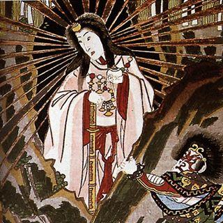 Die Sonnengöttin Amaterasu Mvyrg5cb