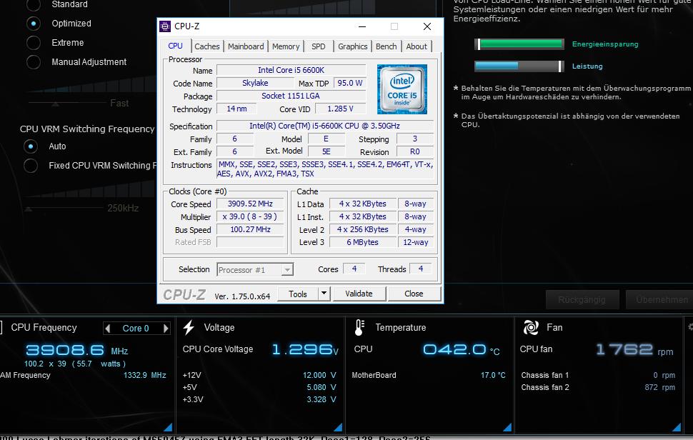 7z52odpr - Asus Z170-P-D3 DDR3 16 GB i5 6600k